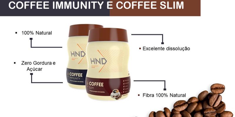 Coffee Slim e Coffee Immunity Hinode