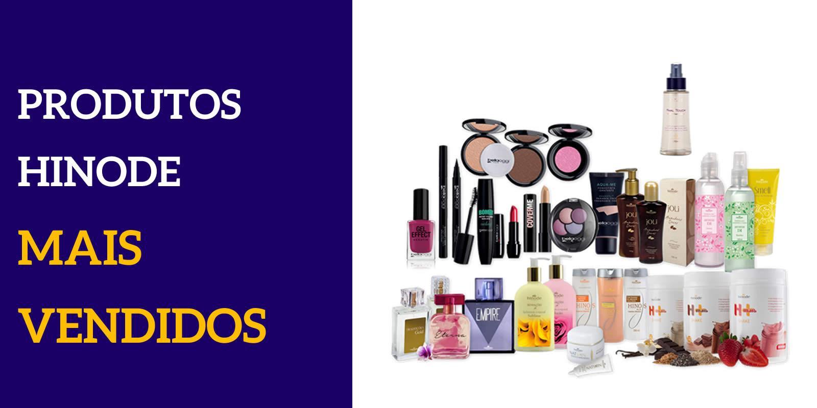 Hinode produtos mais vendidos