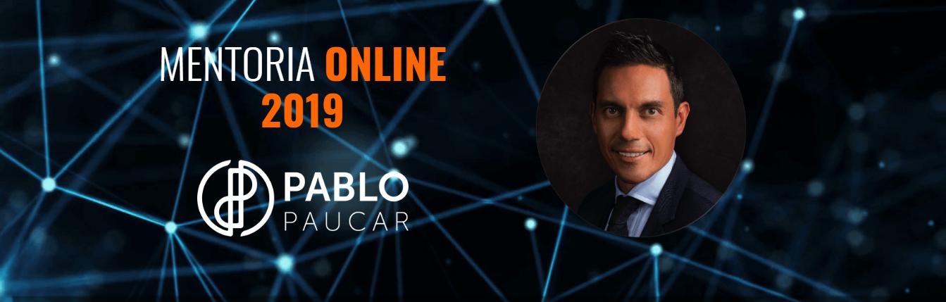 Mentoria Online 2019 Pablo Paucar