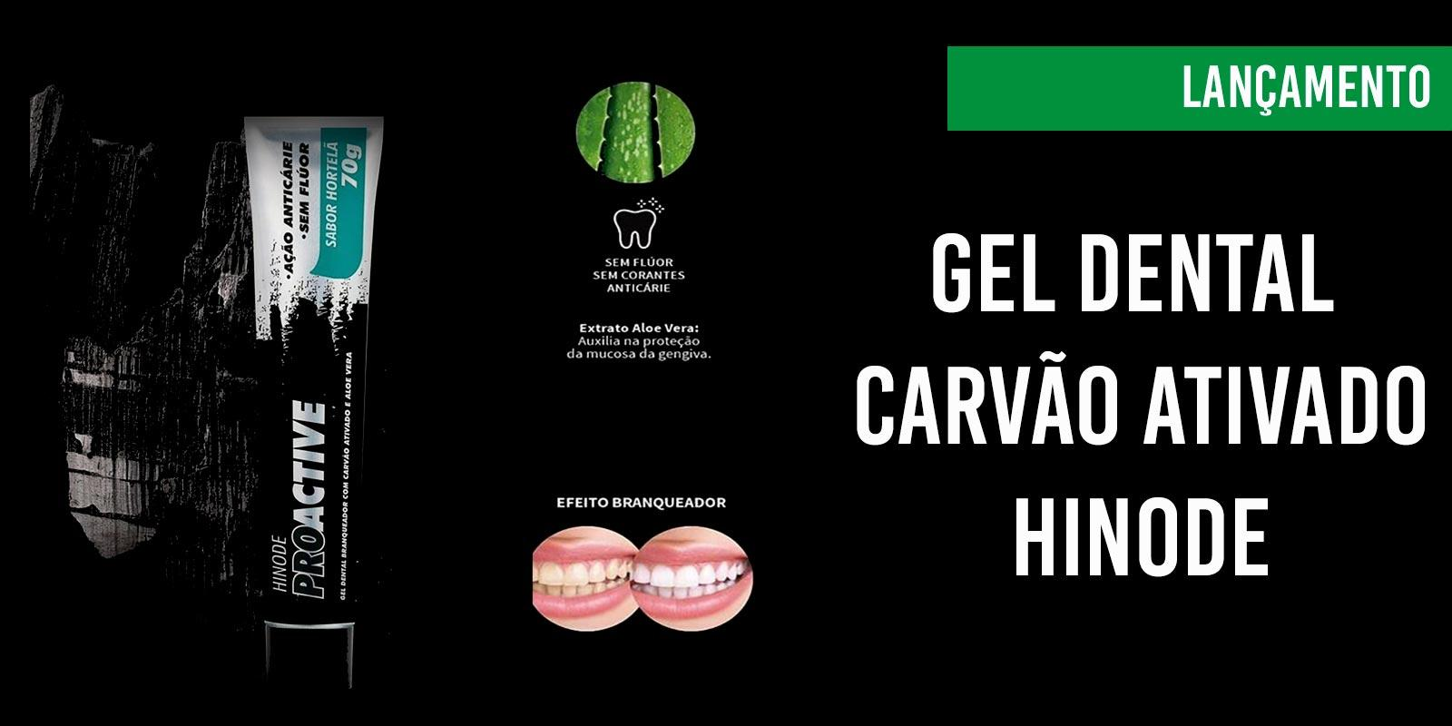 Gel Dental Carvão Ativado Hinode